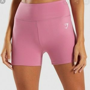 Pink Gymshark Dreamy Shorts